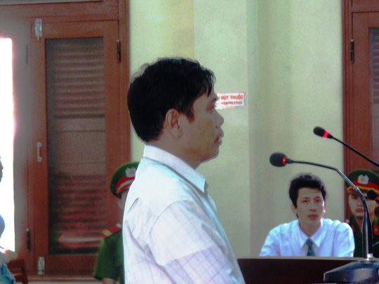 Bị cáo Lê Đức Hoàn chỉ xin tòa xem xét giảm nhẹ hình phạt