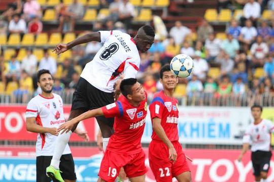 Diabate góp công lớn trong bàn thắng duy nhất của ĐTLA