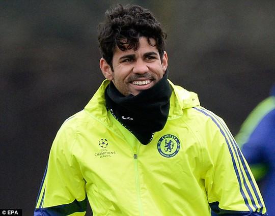 Costa trở lại phần nào khiến HLV Mourinho yên tâm về hàng công