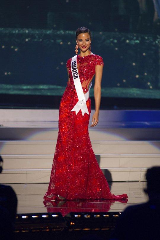 Rất nhiều khán giả không hài lòng khi người đẹp Jamaica Kaci Fennell (ảnh: Reuters) chỉ đạt danh hiệu Á hậu 4.