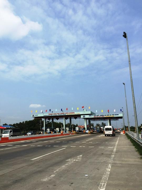 Chiều từ Tiền Giang về TP HCM lại vắng xe