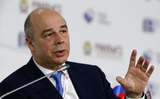 Bộ trưởng Tài Chính Nga Anton Siluanov. Ảnh: Reuters