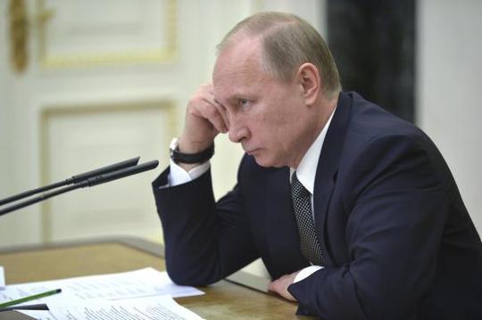 Tổng thống Nga Putin đã vắng mặt 11 ngày. Ảnh: Reuters