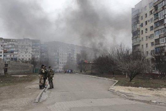 Chiến sự vẫn leo thang ở miền Đông Ukraine. Ảnh: Reuters