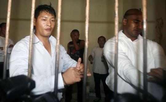 Andrew Chan (trái) và Myuran Sukumaran (phải) đã được chuyển đến đảo Nusakambangan. Ảnh: Reuters