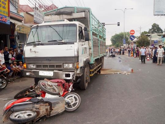 Hiện trường một vụ tai nạn giao thông nghiêm trọng - Ảnh minh họa