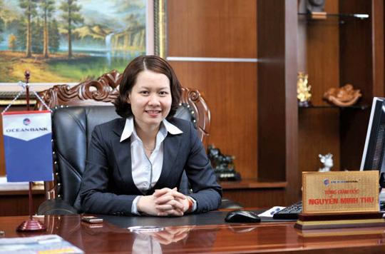 Bà Nguyễn Minh Thu- ảnh Oceanbank