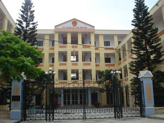 TAND tỉnh Ninh Bình
