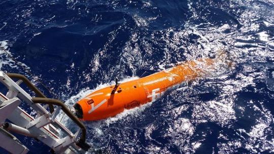Một tàu thăm dò không người lái được dùng trong công tác tìm kiếm MH370. Ảnh: Fugro