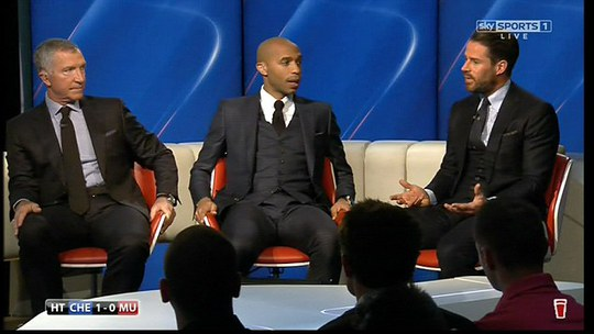 Các chuyên gia bình luận trận Chelsea - M.U của kênh Sky Sorts