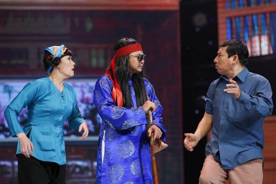Bộ ba Vân Dung- Tự Long - Quang Thắng diễn rất ăn ý với nhau