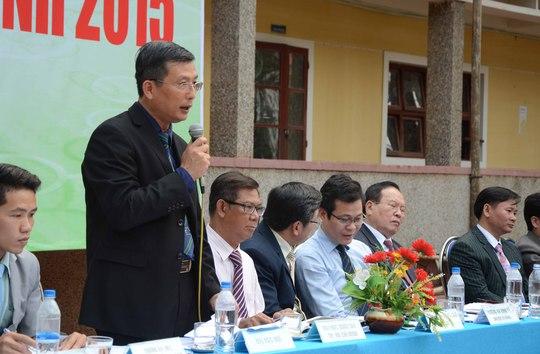 TS Trương Quý Tùng – Phó Giám đốc Đại học Huế