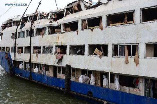 Con tàu xấu số Ngôi sao Phương ĐôngẢnh: Tân Hoa Xã