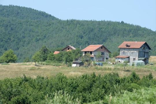 Ngôi làng Osve Ảnh: Mirror