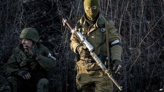 Phe ly khai tiếp tục kiểm soát thị trấn DebaltseveẢnh: AP