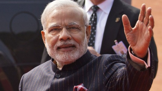Thủ tướng Ấn Độ Narendra Modi Ảnh: AP