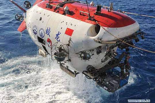 Những hoạt động của Trung Quốc dưới biển sâu cũng được đưa vào luật an ninh quốc gia mới. Trong ảnh: Tàu ngầm Giao Long của Trung Quốc hoạt động ở Ấn Độ Dương vào đầu năm nay.Ảnh: Tân Hoa Xã