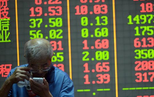 Sự hỗn loạn của thị trường chứng khoán Trung Quốc sẽ là một nội dung thảo luận tại Bắc Đới Hà Ảnh: REUTERS