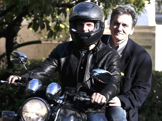 Bộ trưởng Tài chính Hy Lạp Yanis Varoufakis Ảnh: REUTERS