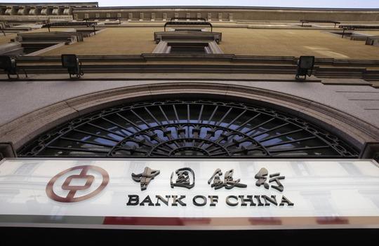 Chi nhánh Ngân hàng Trung Quốc ở TP Milan - Ý Ảnh: AP
