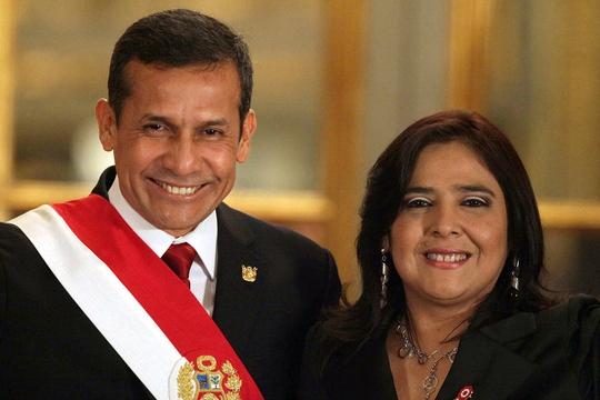 Bà Ana Jara là vị thủ tướng Peru thứ sáu phục vụ dưới thời Tổng thống Ollanta Humala Ảnh: EPA