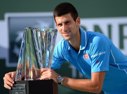 Djokovic lần thứ tư vô địch Indian WellsẢnh: REUTERS