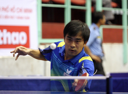 Trần Tuấn Quỳnh sẽ tham dự giải trong màu áo đội tuyển Việt Nam Ảnh: Đào Tùng