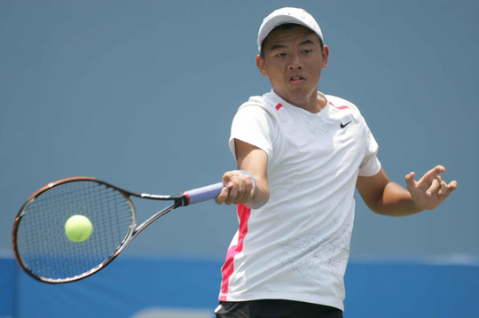 Lý Hoàng Nam đang chơi ấn tượng tại Giải Chang ThailandẢnh: Ngọc Linh