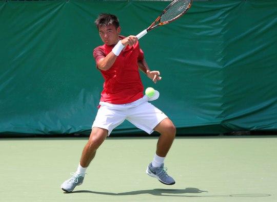 Lý Hoàng Nam là tay vợt Việt Nam gây ấn tượng nhất trong vòng 1 tháng quaẢnh: Ngọc Linh