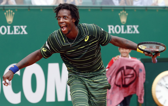 Monfils là hiện tượng của Monte Carlo Masters 2015 Ảnh: Reuters