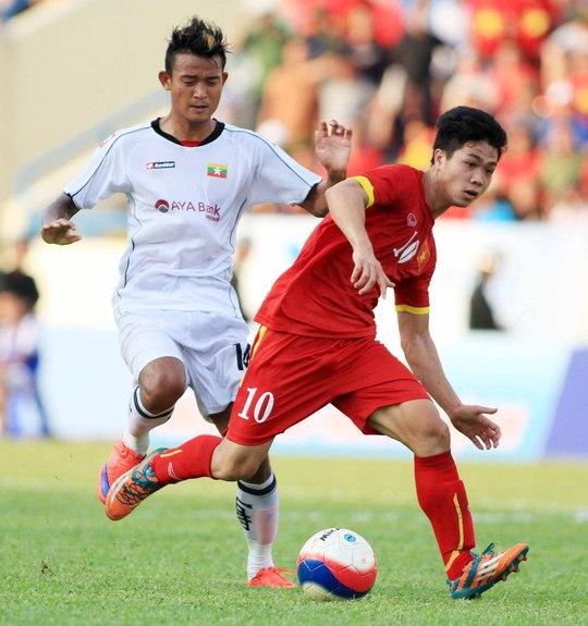 Công Phượng sẽ là niềm hy vọng của U23 Việt Nam khi tái đấu U23 MyanmarẢnh: Ngọc Linh