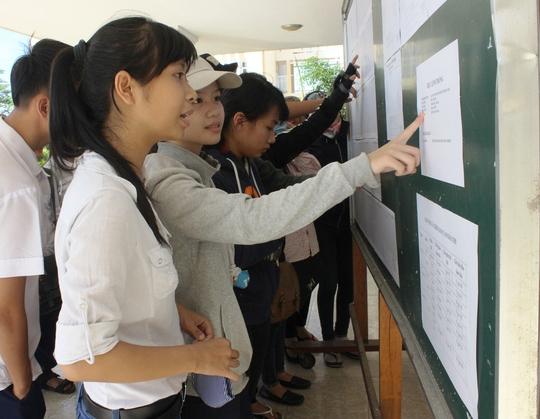 Nhiều thí sinh Phú Yên đã lên đường đi thi nên không thể thay đổi cụm thi