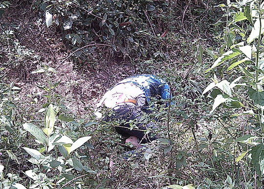 Thi thể nạn nhân Phan Thúy Kiều