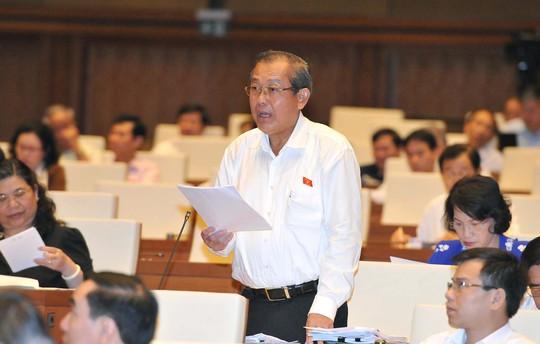 Chánh án TAND Tối cao Trương Hòa Bình khẳng định sẽ áp dụng triệt để nguyên tắc tranh tụng và suy đoán vô tộiẢnh: Thế Dũng