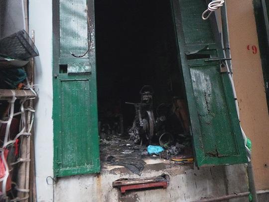 Hiện trường vụ cháy ở Hà Nội khiến 5 người thiệt mạng vào sáng 11-6