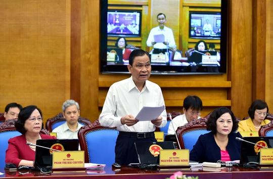Bộ trưởng Bộ Nội vụ Nguyễn Thái Bình cho biết sẽ công bố chỉ số cải cách hành chính trong tháng 7 Ảnh: Nhật Bắc