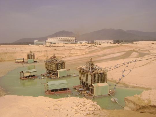 Việc dùng nước biển làm mát thiết bị sắp tới có thể bị thu phí  Ảnh: Hồng Ánh