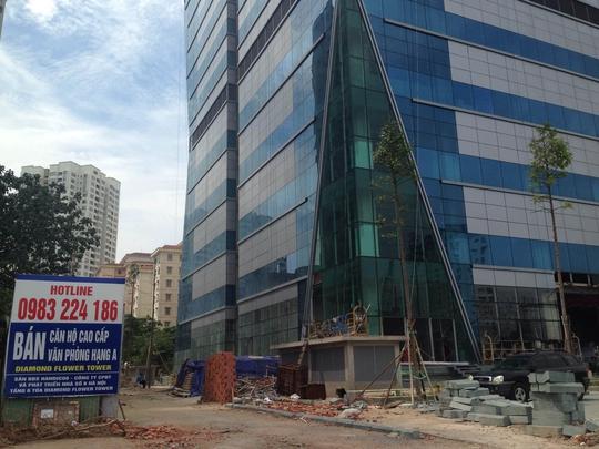 Dự án Diamond Flower của Handico 6 đã trả nợ thuế được 30 tỉ đồng