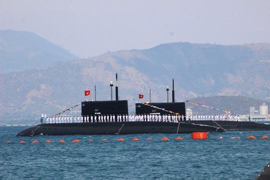 Tàu ngầm Kilo 636 của Hải quân Việt Nam