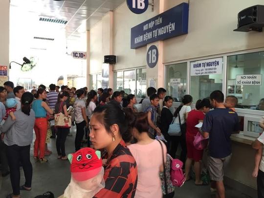 Trời nắng nóng, nhiều trẻ em nhập viện do mắc bệnh hô hấp và tiêu chảyẢnh: Ngọc Dung