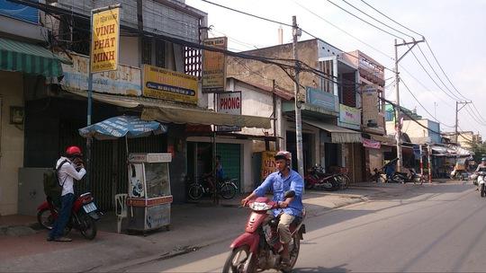 Tiệm vàng Vĩnh Phát Minh - nơi bị ăn trộm lấy đi 500 triệu đồng