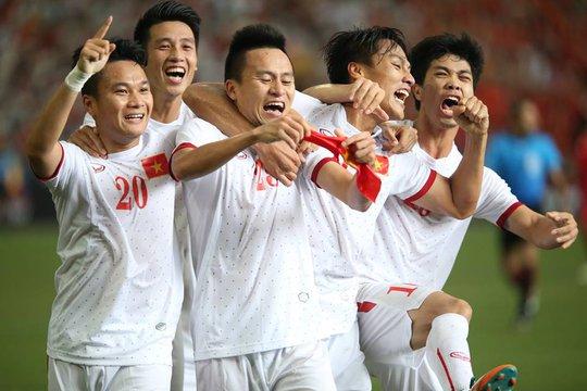 khoảnh khắc vui mừng ngắn ngủi của U23 Việt Nam trong trận thua U23 Myanmar ở bán kết