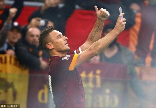 Totti và màn