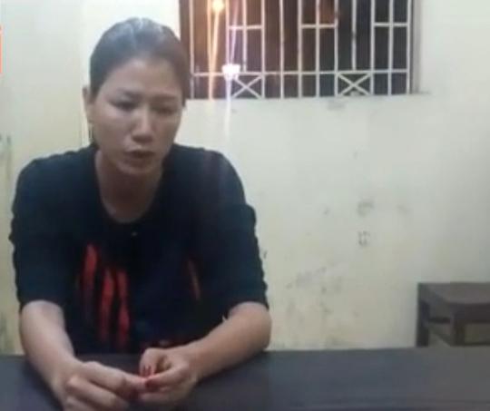 Trang Trần thừa nhận sai và ngỏ lời xin lỗi tại cơ quan công an - Ảnh: CTV