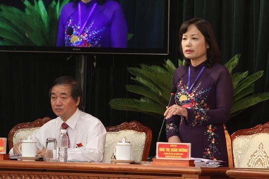 Chánh án TAND TP Ung Thị Xuân Hương khảng dỉnh: Quận huyện nào đình chỉ án vì áp lực thì đua sẽ xử lý nghiêm