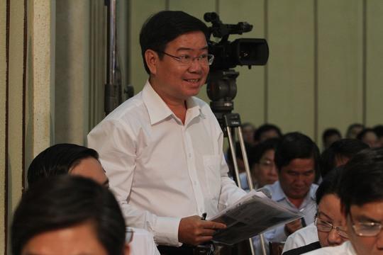 Phó Chiasnh án quận Bình Tân khảng định không có chuyện đình chỉ án vì áp lực thi đua
