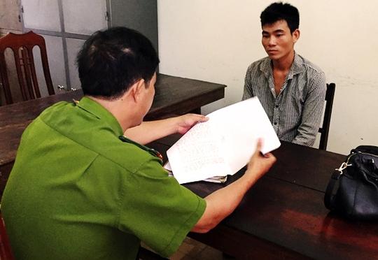 Lê Văn Hòa đã bị cơ quan chức năng bắt giữ. Ảnh: Phúc Điền