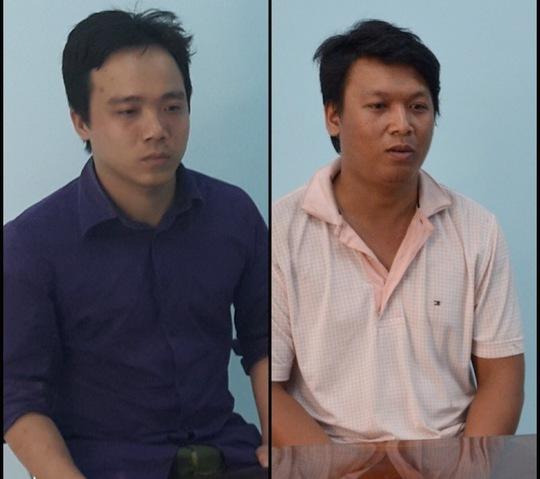 2 đối tượng Lâm Hoàng Vũ và Nguyễn Sơn Tùng
