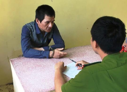 Đối tượng Tống Văn Bắc - kẻ gây ra hàng loạt vụ trộm cắp xe máy bị Công an TP Thanh Hóa bắt giữ