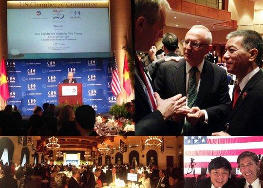 Ảnh: Facebook Đại sứ Mỹ tại Việt Nam